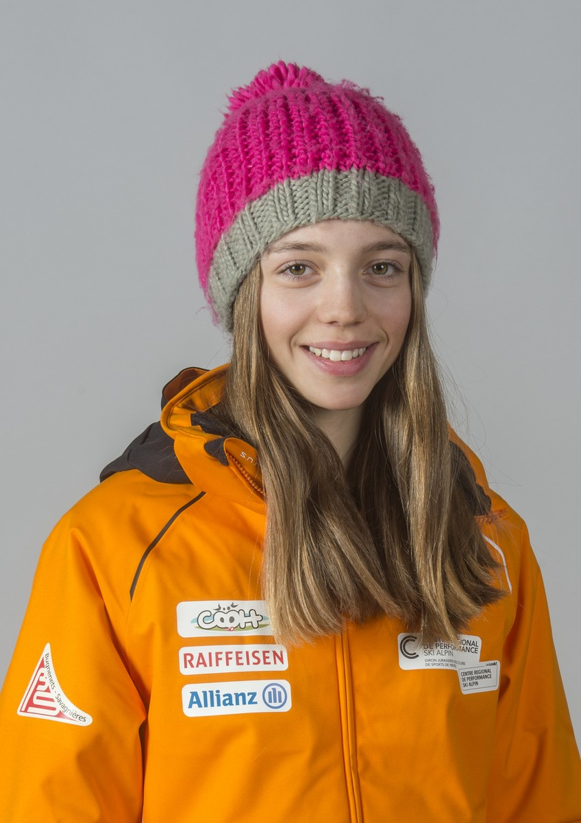 Deux Jeunes Skieuses De La Région Brillent Rjb Votre