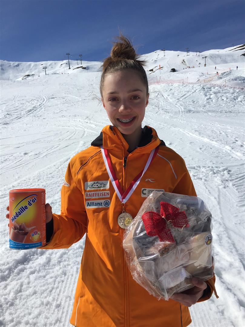 La Skieuse Amélie Klopfenstein Au Sommet Rjb Votre Radio