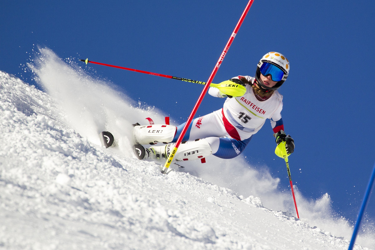 Les Skieurs Du Giron S Illustrent Rjb Votre Radio Régionale