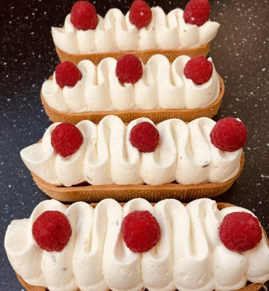 Tarte Chantilly Framboises