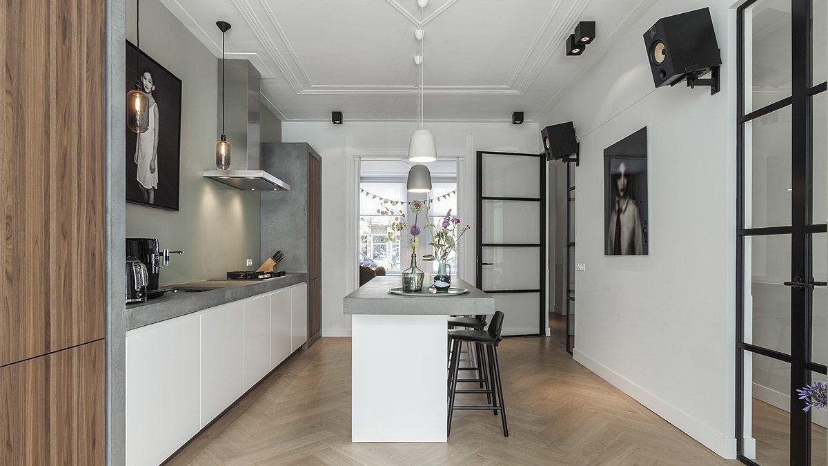 Verbouwing woonhuis Amsterdam  BNLA