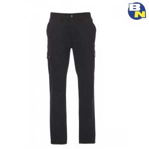 Abbigliamento-Antinfortunistica-pantalone-multitasche-invernale-foderato-nero