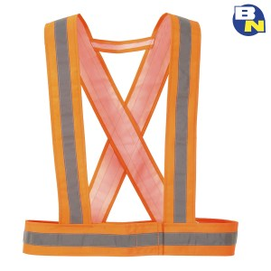 Abbigliamento Pro bratelle ad alta visibilità arancio