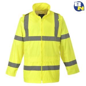 Abbigliamento-Pro-giacca-impermeabile-giallo