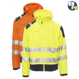 Abbigliamento-Pro-softshell-ad-alta-visibilità