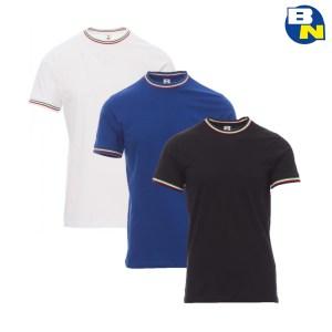 t-shirt italia manica corta