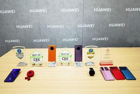 """Los dispositivos HUAWEI obtienen premios """"Best of CES"""" y """"Editor's Choice"""""""