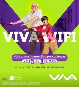 Nuevo servicio VIVA Wifi ofreceplanes especiales para Pymes