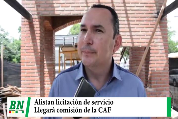 Alcaldía licitará servicio del BTR y espera a una comisión de la CAF que verificará procesos y obras