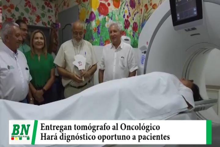Gobernación entrega tomógrafo al Hospital Oncológico que permitirá realizar diagnóstico oportuno