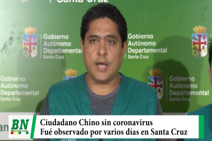 Ciudadano Chino fue observado por varios días y Sedes descarta que tenga coronavirus