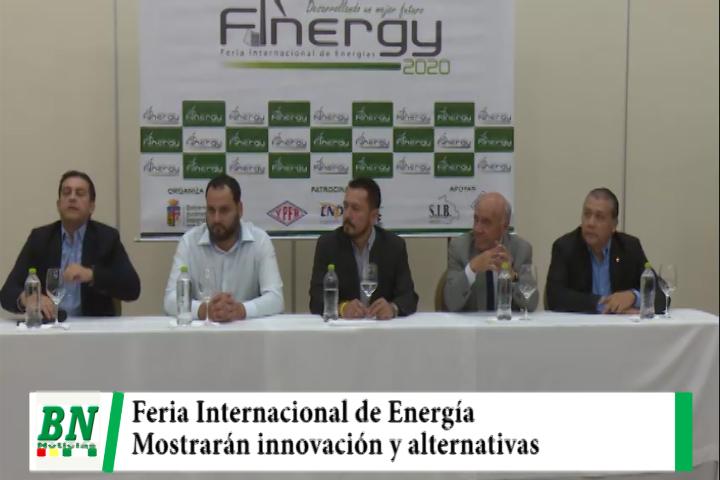 Feria de Energías se llevará a delante en su cuarta versión y mostrarán innovación y alternativas