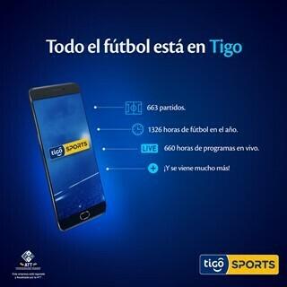 Más ligas, más eventos: Todo el fútbol está en Tigo