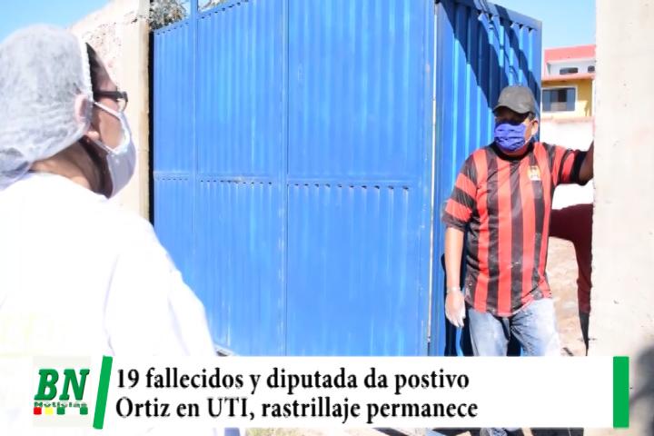 Alerta coronavirus, 495 nuevos casos y 19 fallecidos, diputada da positivo, Ortiz en UTI mientras rastrillaje sigue