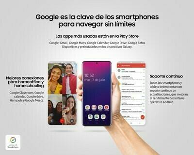 Google es la clave de los smartphones para navegar sin límites