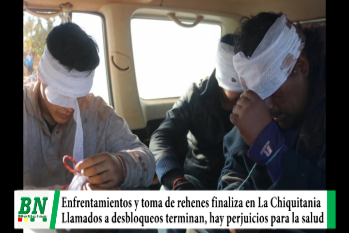 Elección 2020, Desbloquean carreteras tras enfrentamientos y rehenes, movilización finaliza, Cochabamba en bloqueos
