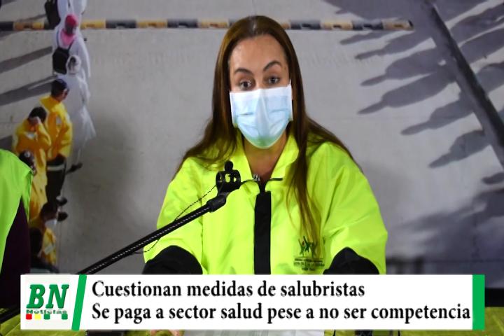 Municipio lamenta medidas de salubristas y asegura que pagó salarios