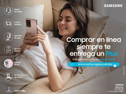 Samsung lanza su nueva tienda online