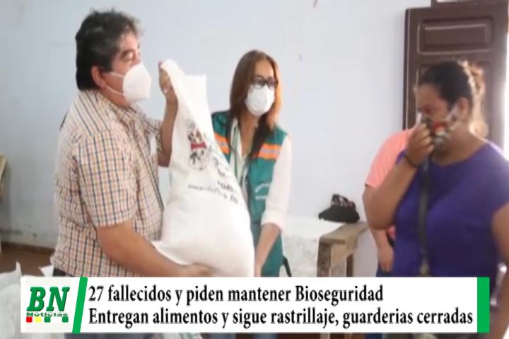 Alerta coronavirus, 27 fallecidos y a seis meses piden mantener Bioseguridad, entregan alimentos y guarderías cerradas