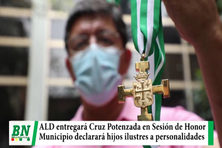 ALD entregará Cruz Potenzada en Sesión de Honor mientras municipio declarará Hijos Ilustres a personalidades