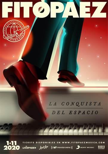 """Fito Paez alista su banda completa para mostrar al mundo """"La Conquista del Espacio"""""""