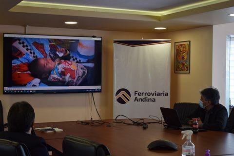 FERROVIARIA ANDINA Y UNICEF PROMOVERÁN PRÁCTICAS AMIGABLES PARA FAMILIAS EN EL LUGAR DE TRABAJO