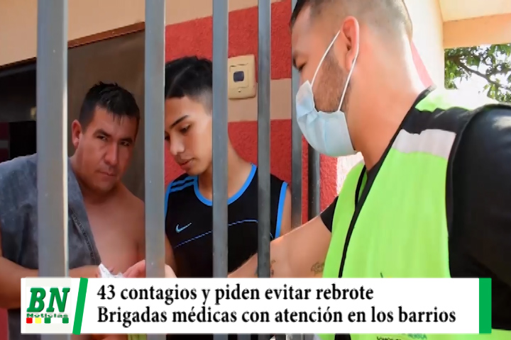 Alerta coronavirus, 43 casos positivos y 11 fallecidos mientras brigadas médicas dan atención en los barrios