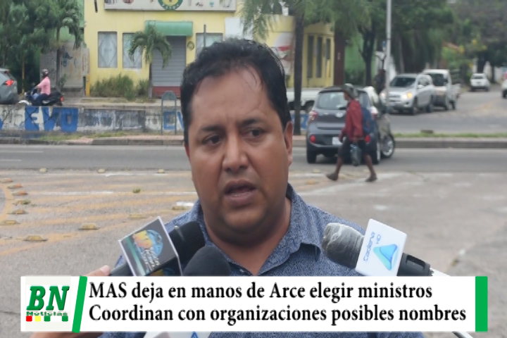 El MAS deja en manos de Arce elegir a ministros y esperan a los mejores, coordinan con organizaciones sociales