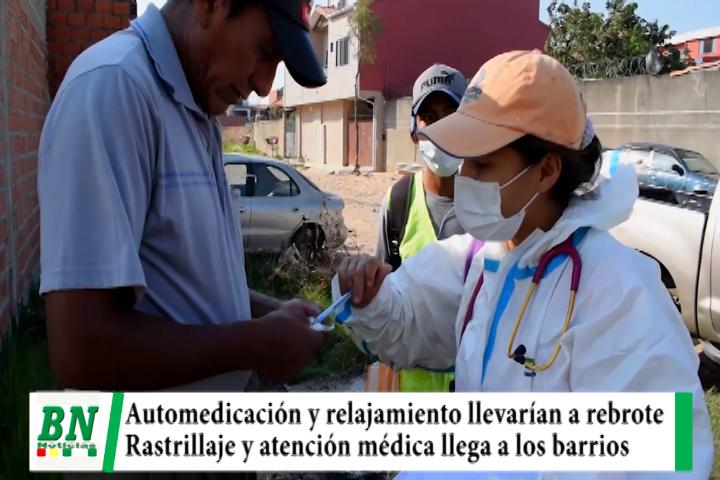 Alerta coronavirus, 70 casos alerta al Sedes y ve que automedicación y relajamiento llevarán a rebrote, brigadas médicas van a los barrios