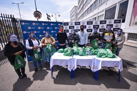 CBN, a través de su marca Pepsi, entrega 20 Mil ítems de bioseguridad para tiendas en todo el país