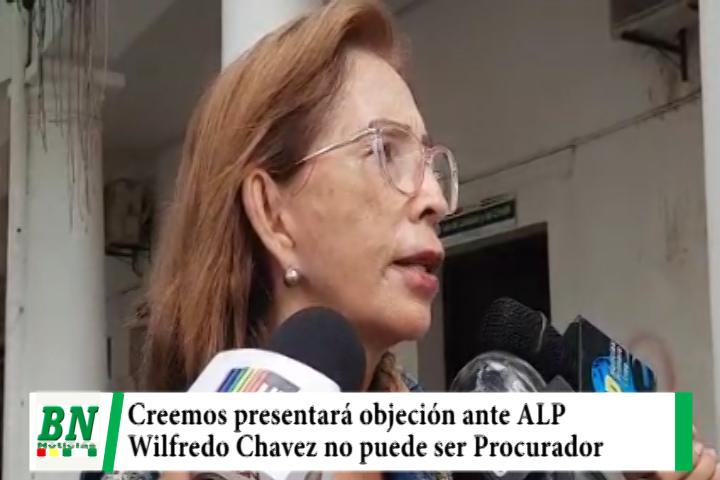Creemos presentará ante la ALP objeción a la posesión de Wilfredo Chavez como Procurador