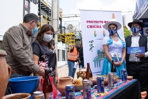 Chicha Taquiña impulsa la reactivación de la economía nacional en medio del COVID-19