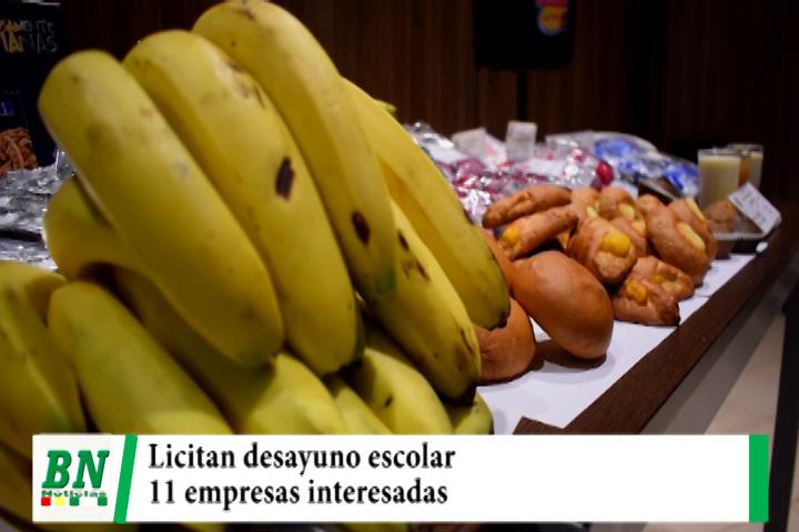 Municipio licita el desayuno escolar que beneficiará a más de 200 mil alumnos