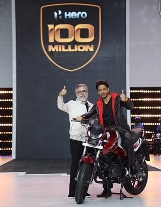 Hero MotoCorp supera la producción de 100 millones de motos en el mundo