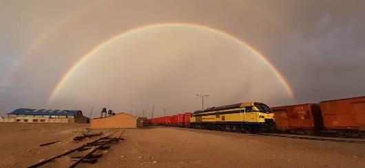 Ferroviaria Andina transportó más de722 mil toneladas de carga durante el 2020