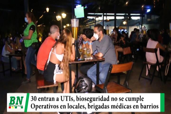 Alerta coronavirus, UTIs reciben a 30 nuevas personas, cierran locales y fiestas particulares y centros realizan pruebas