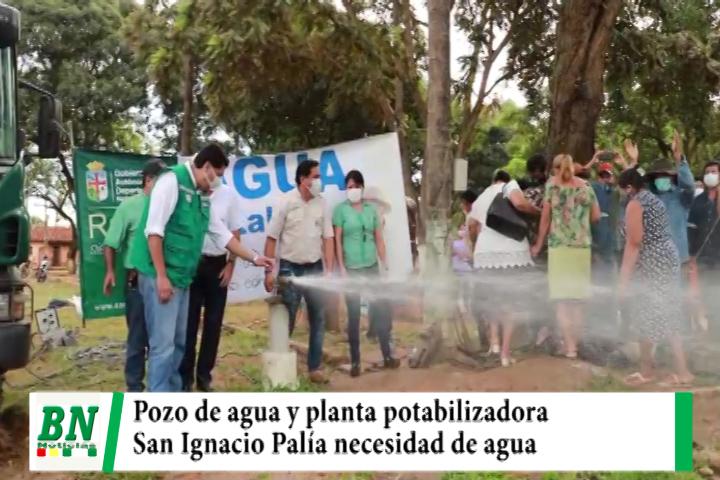 Costas entrega pozo de agua y planta potabilizadora para paliar la necesidad del líquido elemento