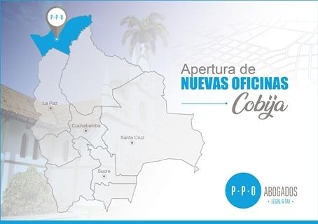 PPO Abogados amplía su presencianacional y ahora está en Cobija
