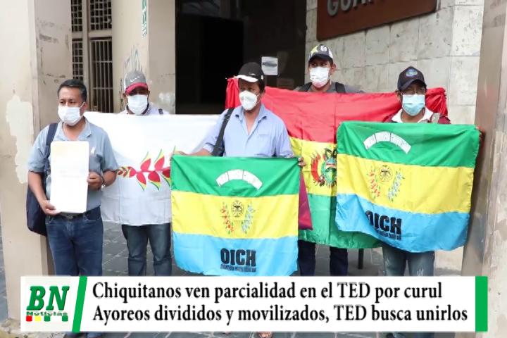 Indigenas divididos por curules de la ALD, Chiquitanos acusan parcialidad y TED busca unir a Ayoreos movilizados