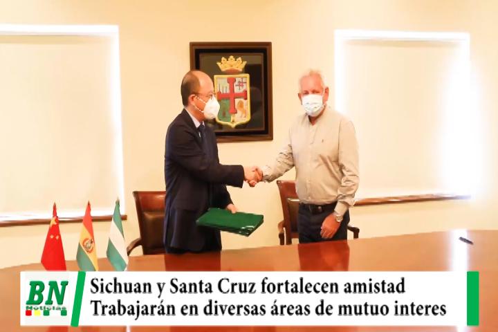 Autoridades de Provincia de China y de Santa Cruz fortalecen lazos de amistad y trabajarán en diversas áreas