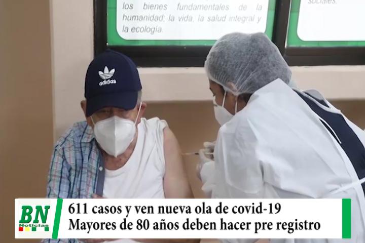 Alerta coronavirus, Sedes ve nueva ola con 611 contagios y piden a mayores de 80 años pre registro