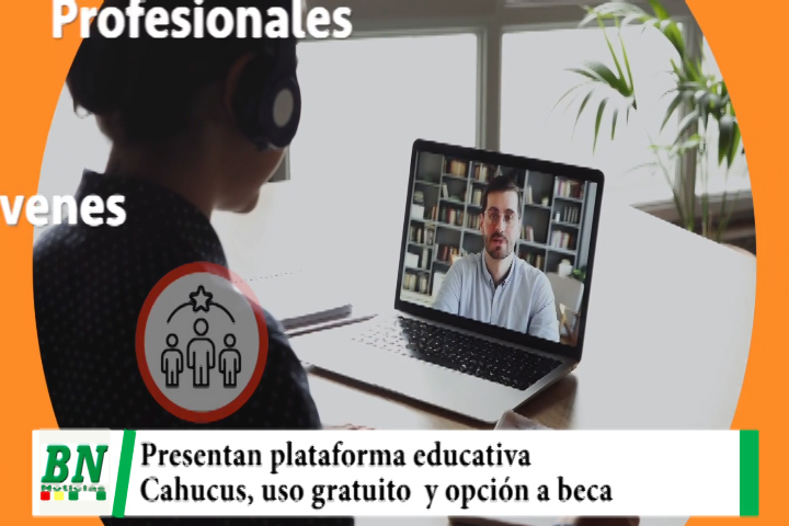 Presentan innovadora plataforma educativa Cahucus, uso gratuito y opción a beneficiarse con beca