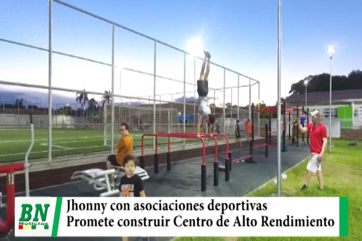 El alcalde se reunió con asociaciones deportivas y se comprometió a construir un centro de alto rendimiento