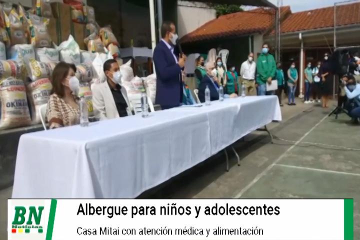 Albergue cobija a niños y adolescentes en situación de calle en Casa Mitaí, cuentan con medicamentos y alimentos