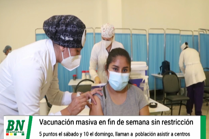 Alerta coronavirus, positivos duplican al 2020 y vacunación se agiliza, domingo habrán 10 puntos habilitados