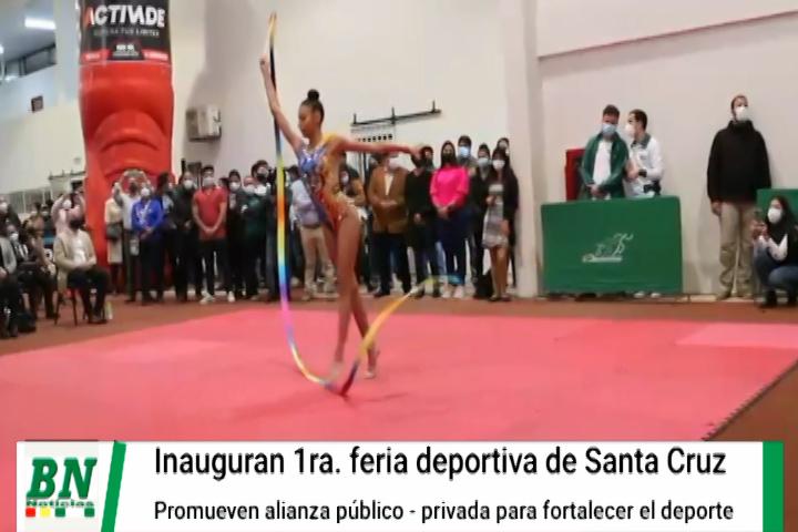 Inauguran I Feria Deportiva y Gobernador compromete alianza público-privada