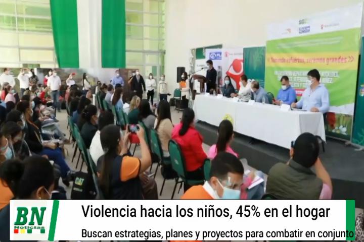 Autoridades preocupadas por violencia hacia los niños y adolescentes, Visión Mundial registra el 45% en el hogar