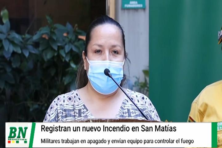 Reportan 52 mil hectárea afectadas por incendios forestales y dos nuevos en San Matías