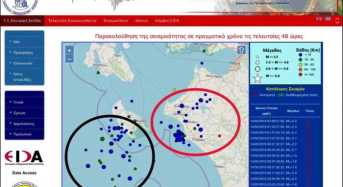 Οι σεισμολόγοι Μ. Χουλιάρας και Α. Τσελέντης μιλούν για την σεισμική διέγερση που καταγράφεται τελευταία στην Ηλεία