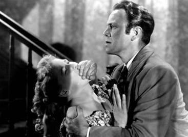 Dorothy Patrick and Louis Hayward in Fritz Lang's HOUSE BY THE RIVER (1950). Courtesy Photofest. Playing 2/8